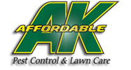 AK Affordable Pest Control and Lawn Care Logo